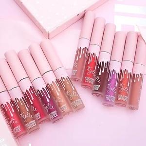Kylie Jenner Matte Liquid Lipstick Подарочный набор 6 блесков
