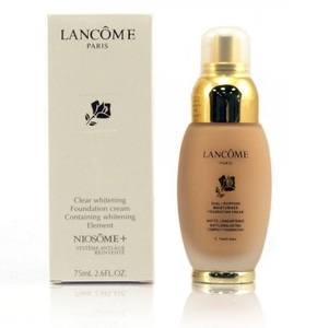 Lancome Clear Whitening Foundation Cream Niosome Тональный коем в стекла 75 ml