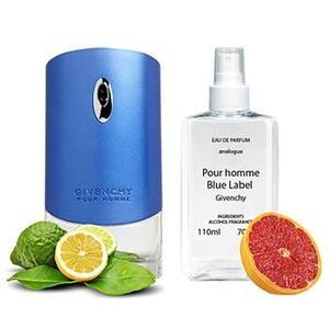 Givenchy Pour Homme Blue Label Парфюмированная вода 110 ml