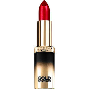 L'Oreal Paris Color Riche Gold Obsession Помада тон Ruby Gold Original