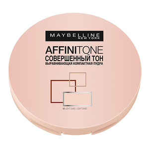 Maybelline Affinitone Powder Выравнивающая компактная пудра тон 24 Original